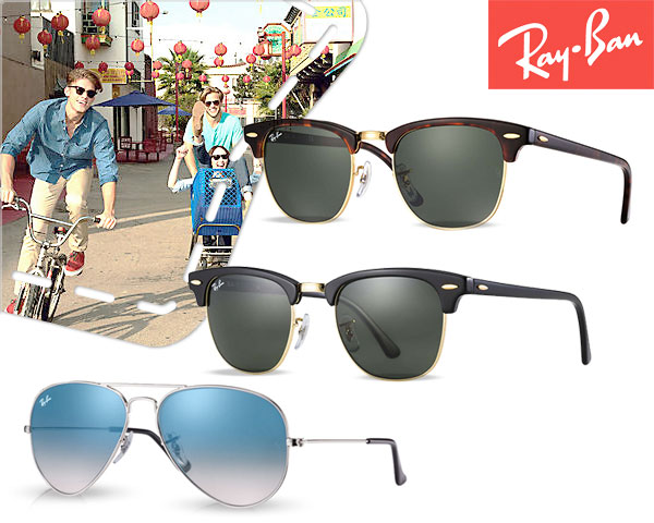 Ray-​Ban Aviator Of Clubmaster Zonnebril